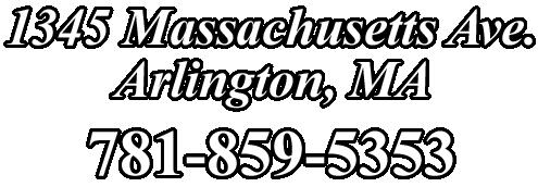 1345 Massachusetts Avenue, Arlington, MA | 781-859-5353